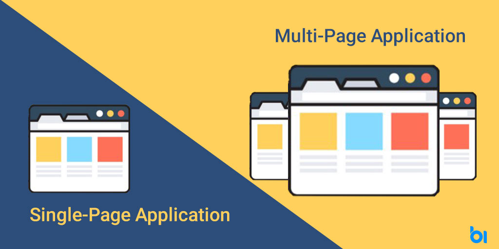 Single-Page Application and Multi-Page Application